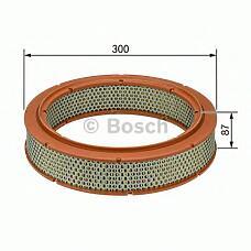 BOSCH 1457429080 (0010949504 / 0010940405 / 5009064) фильтр воздушный mb w123 200d-300td / газ 2.4