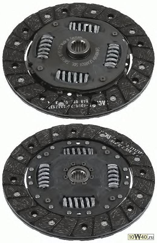 диск сцепления\ opel astra 1.2 / 1.4 91> / kadett / vectra 1.2-1.4<92