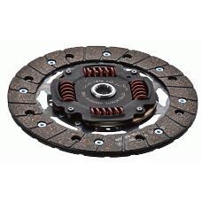 SACHS 1878 049 241 (5027446 / 1644878 / 92AX7L596KA) диск сцепления\ Ford (Форд) Escort (Эскорт) / Fiesta (Фиеста) / orion 1.6i / 1.8i &16v 86-95
