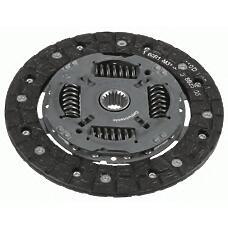 SACHS 1878600668 (312500D091 / 312500D161 / 312500D162) диск сцепления Toyota (Тойота) Yaris (Ярис) 1.0 vvt-i (51kw) 01 / 2006- 200мм