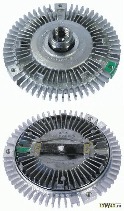 муфта вентилятора\ bmw e38 5.0l m73 94-01