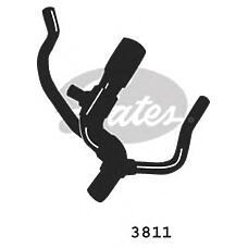 GATES 3811 (1013385 / 1013384 / 7100416) патрубок системы охлаждения