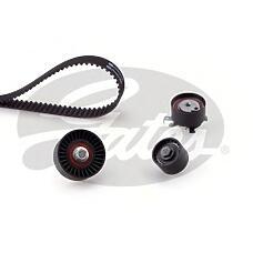 GATES K015508XS (1053942 / 1380026 / YS7J6268CA) комплект грм Ford (Форд) Focus (Фокус) I / Mondeo (Мондео) II 1 6 / 1 8 / 2 0 16v(3 ролика + ремень 129x25 4)