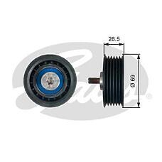 GATES T38099 (059903341A / 0002020019 / 0002020919) ролик натяжителя Audi (Ауди) / mb a4 / a6 / a6 / w204 2.5tdi / 2.0 / 2.2 cdi привод. ремня