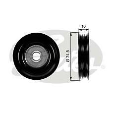 GATES T39028 (11927AX000 / 70017 / 11925AX00B) ролик натяжителя Nissan (Ниссан) Micra (Микра) k12 / note (водяной насос)