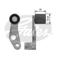 GATES T42049 (036109181A) ролик натяжителя VW Golf (Гольф) IV / Bora (Бора) / Polo (Поло) / Octavia (Октавия) 1.4 / 1.6 обводной с держателем