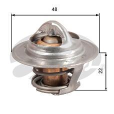 GATES TH28592G1 (96143939 / 1338052 / 3038094) термостат