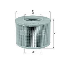 KNECHT LX330 (7701033713 / 1444K4 / 5025068) фильтр воздушный\ Renault (Рено) Megane (Меган) 2.0i / 1.9d 96>