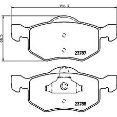 TEXTAR 2378701 (EC253323ZA / EC253323ZB / EC253323ZD) кол. торм. диск..