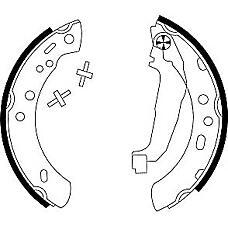 TEXTAR 91047200 (4406099B26) колодки барабанные Nissan (Ниссан) Micra (Микра) (k11) 92-03 к-т
