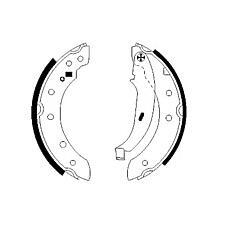 TEXTAR 91048000 (4241J1 / 4241J5 / 7701203979) колодки барабанные\ Renault (Рено) Laguna (Лагуна) 1.6i-1.9td 97-01, Citroen (Ситроен) zx 94-97
