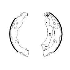 TEXTAR 91060200 (7701207178 / 7701206429 / 440607493R) колодки тормозные барабанные Renault (Рено) logan, Clio (Клио) II