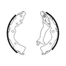 TEXTAR 91068900 (583051GA00) колодки тормозные барабанные