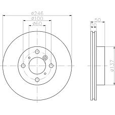 TEXTAR 92104500 (5531162G00 / 5531162G01 / 5531162G03) диск тормозной передний\ Suzuki (Сузуки) baleno 1.8 / 1.9td / Liana (Лиана) 1.3-1.6 96>
