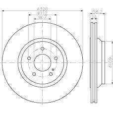 TEXTAR 92160703 (2214230412 / 2214231012 / 424212) диск тормозной задний\ mb w221 / r230 5.5 m273 05>