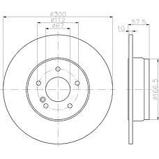 TEXTAR 92163303 (2044230612 / 2044230912 / 2044231512) диск тормозной задний с покрытием\ mb w204 / s2041.8 / 2.1 / 2.5 / 3.0 07>