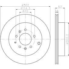 TEXTAR 92180903 (L20626251B / L20626251 / L20626251C) диск тормозной задний\ Mazda (Мазда) cx-7 2.3-2.5 06>