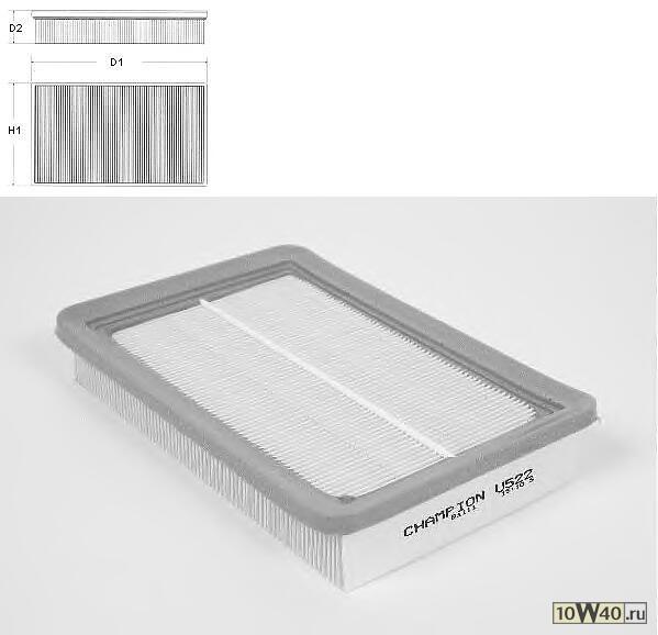 фильтр воздушный hyundai excel ,lantra II - 01 / 2000