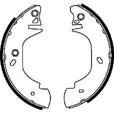 JURID 362301J (7125122 / 1014316 / 94VB2200AB) колодки тормозные барабанные