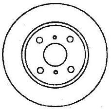 JURID 561490J (424694 / 95661747 / 4246A7) диск торм.Toyota (Тойота) Corolla (Корола) передний 1 шт