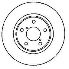 JURID 561536J (4020688E01 / 4020688E04 / 4020688E05) диск торм. Nissan (Ниссан) Maxima (Максима) 2.0 / 3.0 перед. вент. 1 шт (min 2 шт)