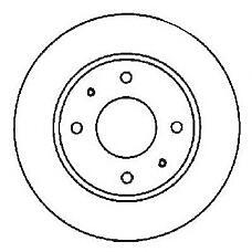 JURID 561592J (7700802232 / 7701205840 / 7701204495) диск торм. Renault (Рено) Laguna (Лагуна) / safrane передний вент. . 1 шт (min 2 шт)