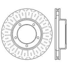 JURID 562559JC (4351260130 / 4351260170 / 4351260171) диск тормозной