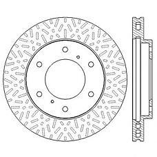JURID 562572JC (MR407116 / MR407289 / 4615A061) диски тормозные, комплект