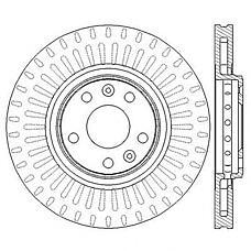 JURID 562596JC (402060003R) диск тормозной передний nonox Renault (Рено) Laguna (Лагуна) 09 07> grand Scenic (Сценик) 09- 320x28mm