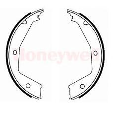 BENDIX 362407B (4241K4 / 4241J2 / 4241K9) колодки барабанные ручника Peugeot (Пежо) 406 all 96>