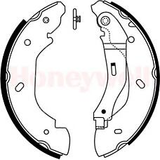 BENDIX 362414B (4110585 / 4095038 / 4540771) колодки барабанные disk 15\ Ford (Форд) Transit (Транзит) 2.0di-2.4di 00>