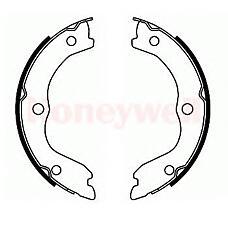 BENDIX 362453B (D40608H725 / 440608H725 / 44060M7025) колодки барабанные ручника\ Nissan (Ниссан) x-trail 01>