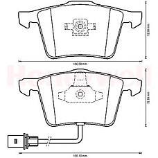 BENDIX 573198B (4F0698151A / 4F0698151D / 4E0698151F) _колодки дисковые передние\ Audi (Ауди) a4 all / a6 4.2 quattro 04>573198b_колодки дисковые передние\ Audi (Ауди) a4 all / a6 4.2 quattro 04>