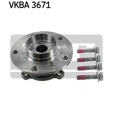SKF VKBA3671 (31226750217 / R5034) ступица колеса с интегрированным подшипником