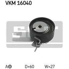 SKF VKM16040 (1388493 / 30677832 / 6G9N6K254BA) ролик натяжной с механизмом натяжения\ Ford (Форд) mondeo, Volvo (Вольво) c70 / s40-s80 / v50 / v70 2.0-2.5 99>