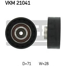 SKF VKM21041 (074109243A) ролик обводной ремня грм\ Audi (Ауди) 100 2.4d-2.5tdi 89-94