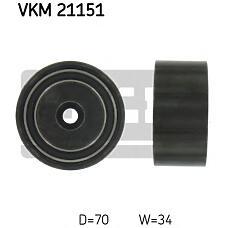 SKF VKM21151 (059109244B / 059109244A / N0147236) ролик обводной ремня грм vag a6 97-05