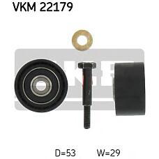 SKF VKM22179 (5636743 / 55187100 / 93178807) ролик обводной ремня грм\ Fiat (Фиат) bravo / Punto (Пунто) 1.9td / jtd 95>