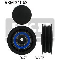 SKF VKM31043 (074145278F / 044145278A / 077903343) ролик натяжителя VW t4 привод. ремня