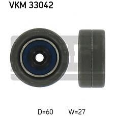 SKF VKM33042 (575191 / 9642006780) ролик натяжителя прив. ремня citroen