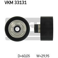 SKF VKM33131 (5751F4 / 5751E6 / 9658559480) ролик обводной ременя но\ Citroen (Ситроен) c4, Peugeot (Пежо) partner / Berlingo (Берлинго) 1.6hdi 08>