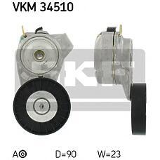 SKF vkm34510 (4898755 / 5172309) ролик натяжителя ремня