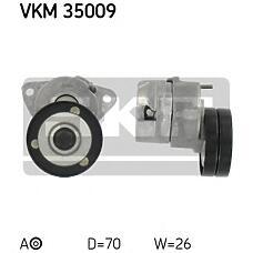 SKF VKM35009 (1340541 / 6340532 / 90500229) натяжной ролик Opel (Опель) 1.4-2.0 v16