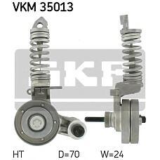 SKF VKM35013 (1340550 / 6340553 / 90531986) ролик натяжителя Opel (Опель) agila a / Astra (Астра) f / g / h / Corsa (Корса) b / c / d / Meriva (Мерива) 1.0-1.4