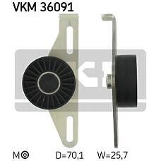 SKF VKM36091 (8200582997 / 7700105325 / 8200192843) ролик натяжной\ Renault (Рено) Laguna (Лагуна) / Megane (Меган) / Clio (Клио) 1.4 / 1.6 16v 97>