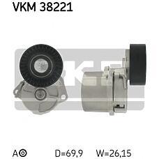 SKF VKM38221 (11281432104 / 11281247647) ролик натяжителя ремня BMW (БМВ) 3 / z3