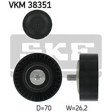 SKF VKM38351 (11287549557 / 11281440237 / 1440237) ролик обводной ремня но\ BMW (БМВ) e65 / e66 / e60 / e53 3.6 / 4.4 / 4.8 03>