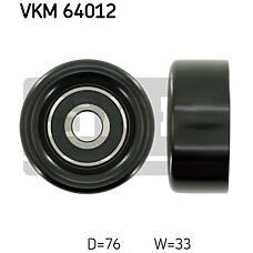 SKF VKM64012 (252864A000 / 252864A030 / 252864A010) ролик поликлинового ремня натяжной