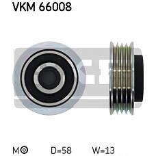 SKF VKM66008 (4916070AA0) ролик приводного ремня\ Suzuki (Сузуки) ignis II / jimny / Swift (Свифт) III / sx4 / wagon r+ 1.0 / 1.3 / 1.5 / 1.6