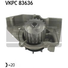 SKF VKPC83636 (120193 / 1201A1 / 9566950080) насос водяной